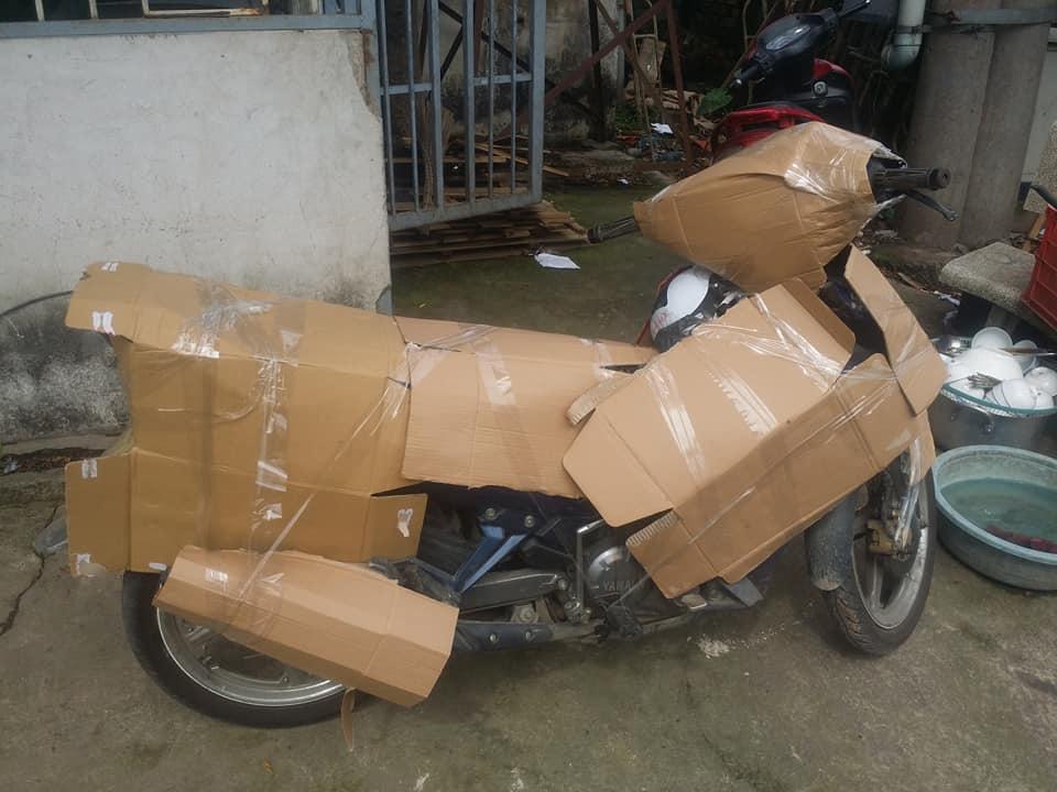 Bảo quản xe máy khi vận chuyển đường xa bằng tàu hỏa