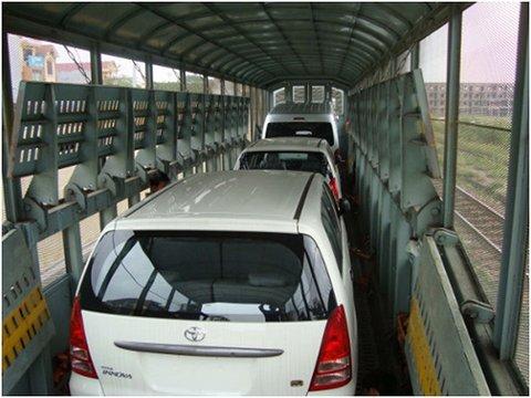 Dịch vụ vận chuyển ô tô bằng tàu hỏa an toàn nhất 2021