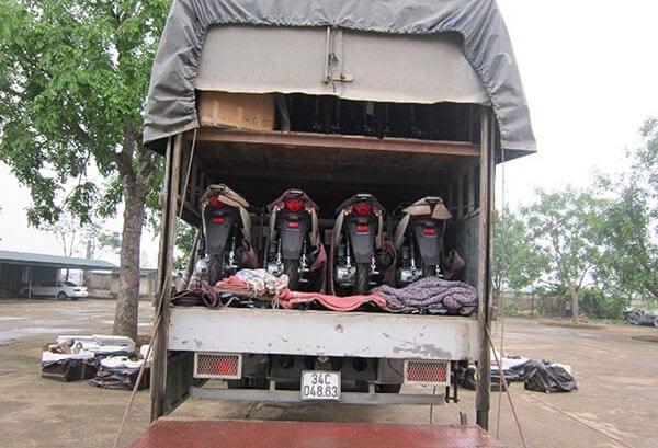 Dịch vụ vận chuyển xe máy Bắc - Nam